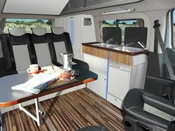 Developed By Reimo In Germany Work Has Commenced On A Version Of The Trio Style Camper Interior Specifically Designed For New Metris